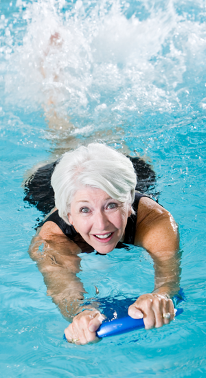 Erwachsenenschwimmkurs